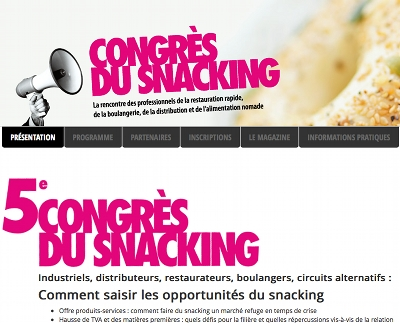 5e Congres du Snacking