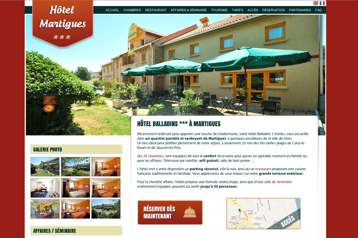 site-internet-hotel-martigues